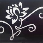 Трафареты для бикини-дизайна - цветок