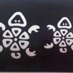 Трафареты для бикини-дизайна - черепаха