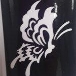 Трафареты для бикини-дизайна - бабочка