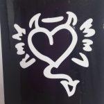 Трафареты для бикини-дизайна - сердце