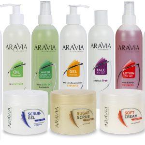 """Средства до и после депиляции """"ARAVIA Professional"""""""
