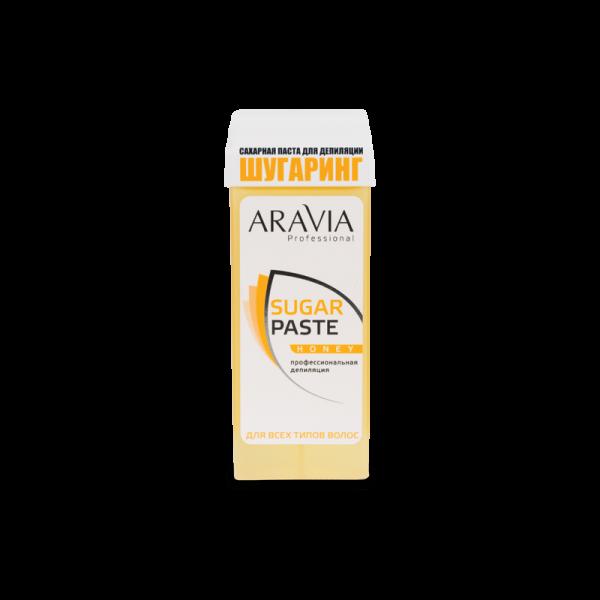 ARAVIA Professional Сахарная паста для депиляции в картридже Медовая очень мягкой консистенции  170 г.