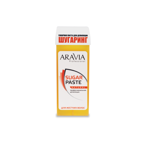 ARAVIA Professional Сахарная паста для депиляции в картридже Натуральная мягкой консистенции  170 г.