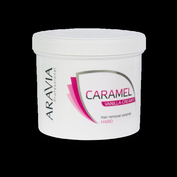 ARAVIA Professional Карамель для депиляции Ванильно-сливочная плотной консистенции 750гр.