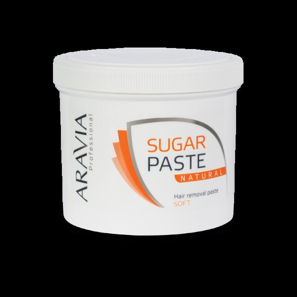 ARAVIA Professional Сахарная паста для депиляции Натуральная мягкой консистенции 750гр.