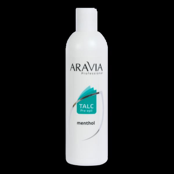 ARAVIA Professional Тальк с ментолом 200гр.