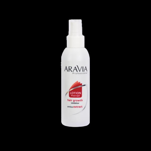 ARAVIA Professional Лосьон для замедления роста волос с экстрактом арники 150мл.