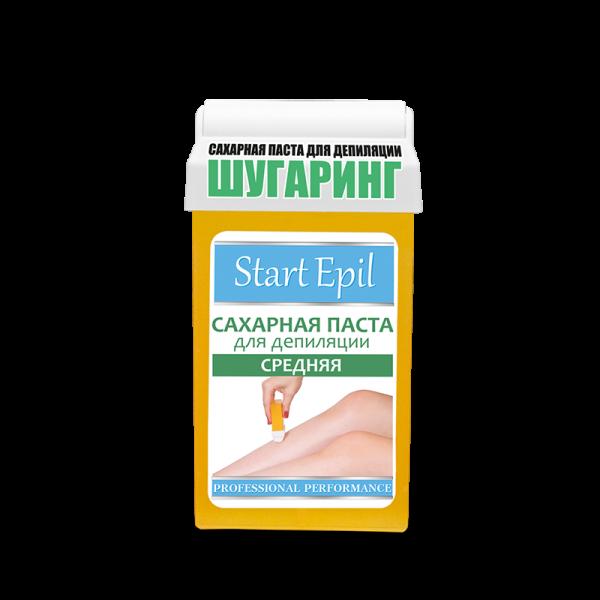 Start Epil Сахарная паста для депиляции в картридже Средняя 100 г.