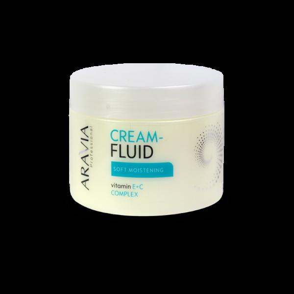 ARAVIA Professional Крем-флюид Нежное увлажнение с витаминами Е и С 300мл.